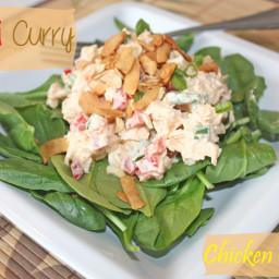 Thai Curry Chicken Salad