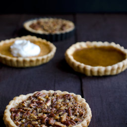Thanksgiving Pie Tarts