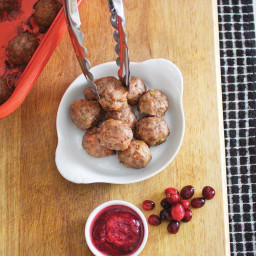 Thanksgiving Stuffing Meatballs
