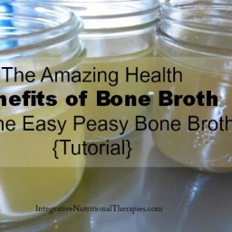 The Amazing Health Benefits of Bone Broth and the Easy Peasy Bone Broth {Tu