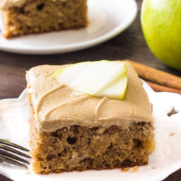 The Best Apple Cake Recipe (with Caramel Frosting!)