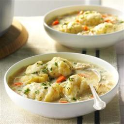 The Best Chicken and Dumplings Recipe