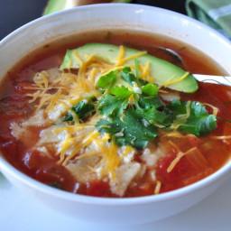 The Best Chicken Tortilla Soup