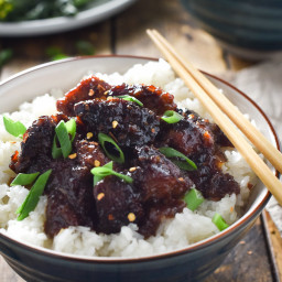 The Best Crock Pot General Tso's Chicken