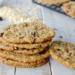 The best EGGLESS oatmeal cookies EVER!