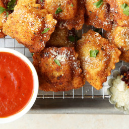 The Best Fried Ravioli