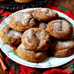 The Best Gingerdoodle Cookies