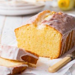 The Best Gluten Free Lemon Drizzle Cake