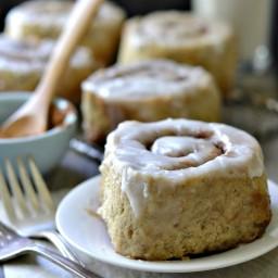 The BEST Gluten-Free Vegan Cinnamon Roll