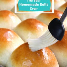 The Best Homemade Dinner Rolls Ever!