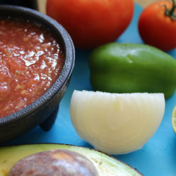 The Best Homemade Salsa Recipe - Gluten Free and Vegan