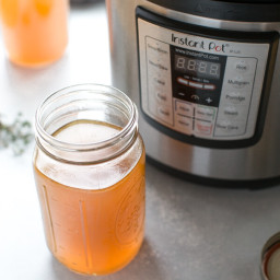 The BEST Instant Pot Bone Broth