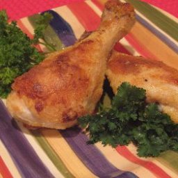 The Best Oven fried Chicken Drumsticks