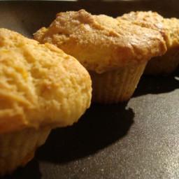 The Best Peach Nectarine Muffins