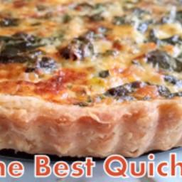 The Best Quiche #Quichefeast