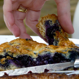 The best recipe for yummy blueberry pie