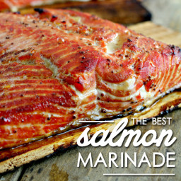 The Best Salmon Marinade Recipe