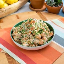 The Best Sweet Potato Potato Salad