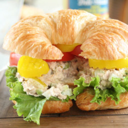 The Best Tuna Fish Salad Sandwich