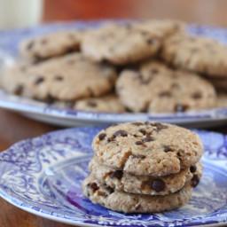 The BEST *Vegan* Chocolate Chip Breakfast Cookies