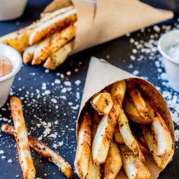 The Best Vegan French Fries (gluten-free, too!)