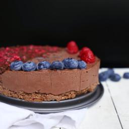 The best vegan Nutella Cake