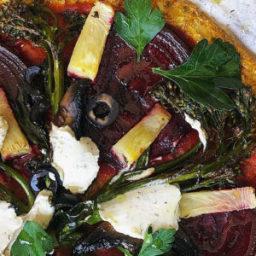 The BEST Vegan Veggie-Packed Pizza Base! [gluten-free!]