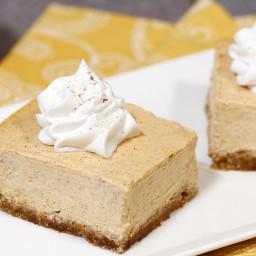 The Great Pumpkin Cheesecake Bars