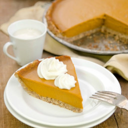 The GREAT PUMPKIN PIE! (recipe from Plant-Powered Families)
