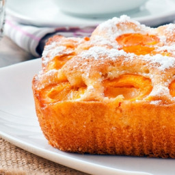 The lush apricot cake