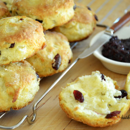 The Most Delicious Cranberry Scone Recipe