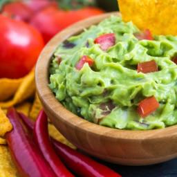 The most delicious guacamole recipe I've ever eaten