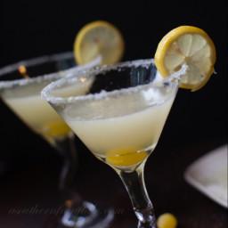 The Perfect Lemon Drop Martini