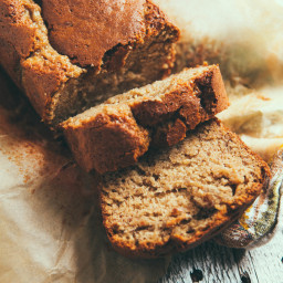 The Simplest Banana Bread