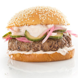 The Tripel Lamb Burger
