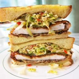 The Ultimate Chicken Schnitzel Sandwich