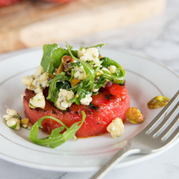 The Ultimate Grilled Watermelon Salad