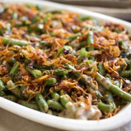The Ultimate Homemade Green Bean Casserole