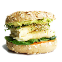 The Ultimate Vegetarian Breakfast Sandwich