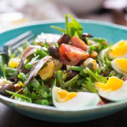 The Un-Composed (i.e., Best) Niçoise Salad