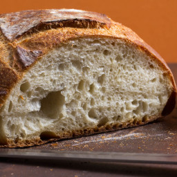 The Workhorse Loaf: Simple Crusty White Bread
