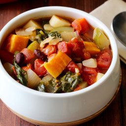Thick and Chunky Vegetable Soup