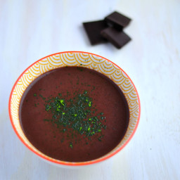 Thick and Vegan SuperPower Hot Chocolate (A L'italienne)