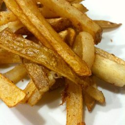 Thin and Crispy French Fries
