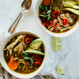 This Turmeric Chicken Immunity Soup Has Magical Powers