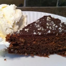 Thomas Family Birthday Cake (a.k.a. Julia Child's Chocolate and Almond Cake