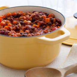 Three Bean & Beef Chili