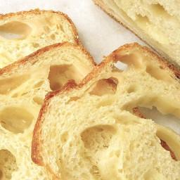 Three-Cheese Semolina Bread