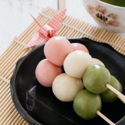 Three Colour (Sanshoku) Dango