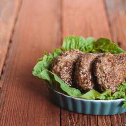 AIP Three Herb Beef Breakfast Patties
